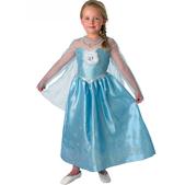 Costume de Elsa luxe La reine des Neiges pour fille