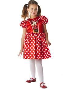 Disfraz de Minnie Mouse Classic Roja para niña