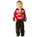 Disfraz de Rayo McQueen Cars 2 para niño