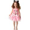 Disfraz de Minnie Mouse Bailarina Rosa para niña