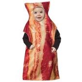 Disfraz de bacon para bebé