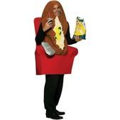 Disfraz de patata adicta a la tele