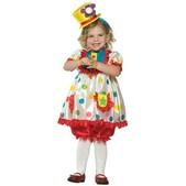 Disfraz de payaso alegre para niña