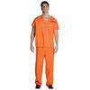 Disfraz de preso naranja