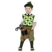 Disfraz infantil de jugador de golf