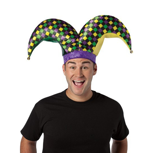 Funidelia FR  chapeau bouffon