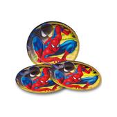 Set de platos grandes El Increíble Spiderman