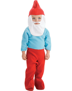Disfraz de Papá Pitufo para bebé