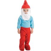 Disfraz de pequeño Papá Pitufo