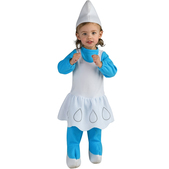 Disfraz de pequeña Pitufina