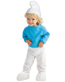 Disfraz de Pitufo para bebé