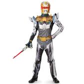 Disfraz de Caballero Robo Power Rangers Megaforce deluxe para niño