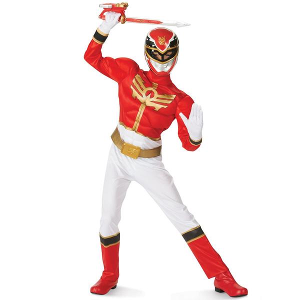 Funidelia FR  Déguisement de Power Ranger Megaforce Rouge pour enfant