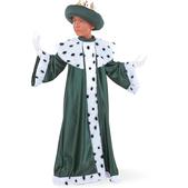 Disfraz de pequeño Rey Baltasar para niño