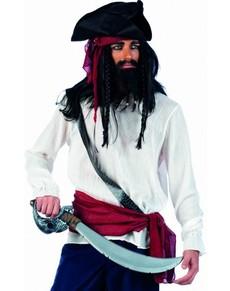 Camisa de pirata bucanero
