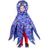 Disfraz de pulpo azul infantil