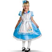 Disfraz de Alicia Deluxe para niña