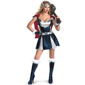 Disfraz de Thor Girl sexy