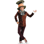 Disfraz de Sombrerero Loco Tim Burton para niño