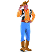Disfraz de Woody Toy Story deluxe para adulto