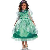 Disfraz de Ariel destello para niña