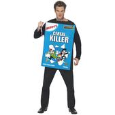 Disfraz de asesino de cereales