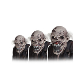 Masque de zombie en décomposition animé de luxe