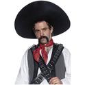 Sombrero de auténtico bandido mexicano