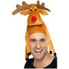Sombrero de reno sentado en tu cabeza