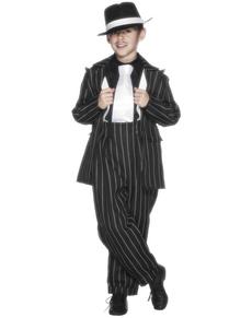 Disfraz de traje gangster Al Capone para niño