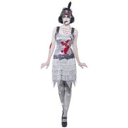 Disfraz de charleston zombie para mujer