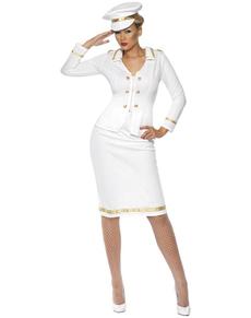 Disfraz de oficial para mujer