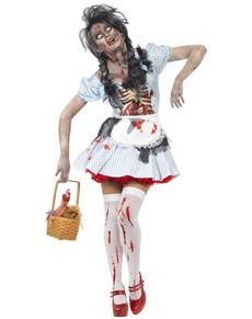 Disfraz de Dorothy horror zombie