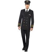 Disfraz de oficial de la marina para hombre
