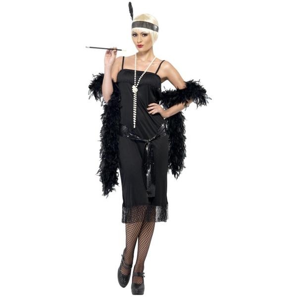 Costume de jeune la mode des ann es 20 en noir sur notre - Mode annee 20 ...