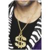 Medallón con el signo del dólar