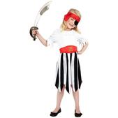 Disfraz de chica pirata para niña