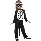 Disfraz de gatuna para niña