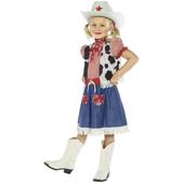 Déguisement de cow-girl douce pour fille