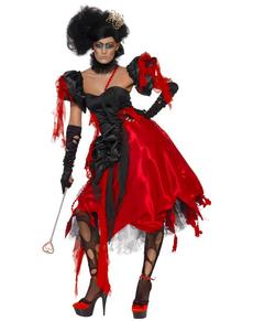 Disfraz de reina de corazones despampanante