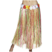 Jupe hawaïenne multicolore