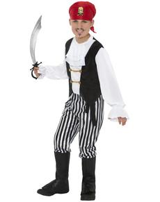 Disfraz de pirata granuja para niño
