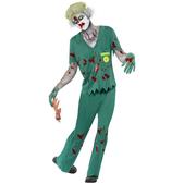 Disfraz de paramédico zombie