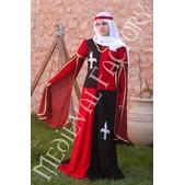 Vestido medieval Cuartelado