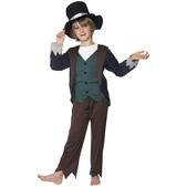 Disfraz de victoriano pobre Deluxe para niño