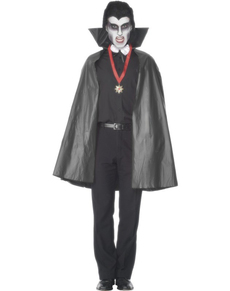 Capa de vampiro plastificada