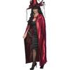 Capa de vampiro reversible para mujer