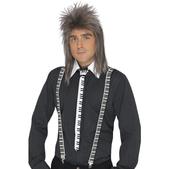 Cravate et bretelles de joueur de piano