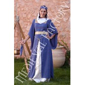 Mittelalter Kleid Violett oder Rot