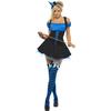 Disfraz de bruja azul Fever para mujer